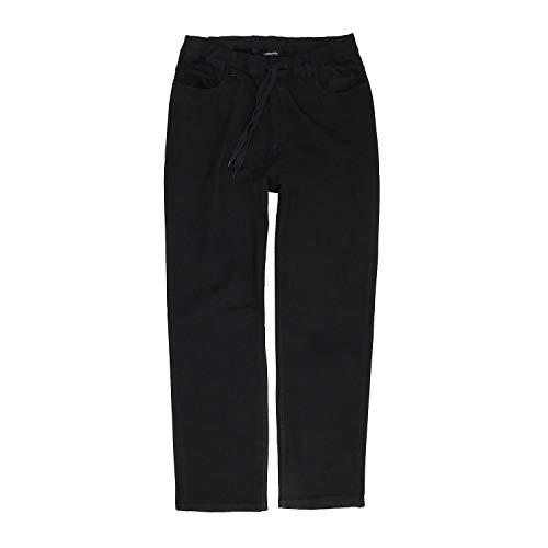 Lavecchia Herren Jeans Hose Schlupfhose mit Kordelzug Übergrössen 3XL-7XL Größe 5XL, Farbe stone-blau