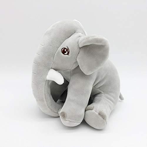 20 cm 7.9 'Kawaii pink/grau Elefant plüsch gefüllter Spielzeug Modell weiche Baumwolle Puppe Sauger anhänger Auto Dekoration Spielzeug Kinder Geschenk (Farbe: pink) Manmiao (Color : Gray)