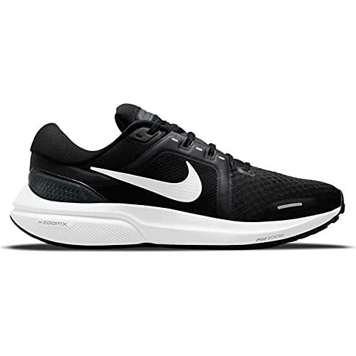Nike Air Zoom Vomero 16, Zapatillas para Correr Hombre, Black White Antracita, 42 EU