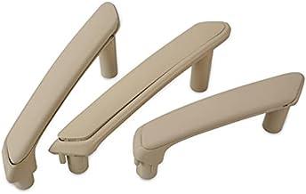 MYAMIA 3 Stks Deur Pull Handgreep Met Trim Cover 3B4867372 3B0867180A Voor Vw Passat B5 - Beige