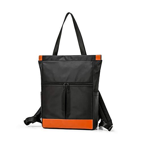 Women Handbag Large Capacity Multi-Function Backpack Laptop Tote Purse Convertible Travel Rucksack Waterproof Lightweight Daypack Messenger Bag, Black