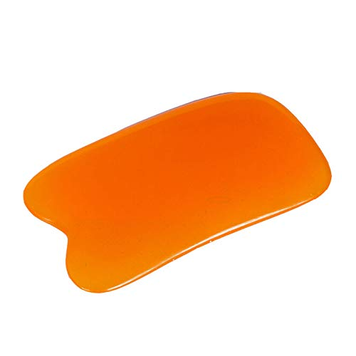 Generic Body Gua Sha Tools Scraping Plates Health Care Massage Pad Neck Back Head Massager Natural Resin Face Body Relax Tool - 01