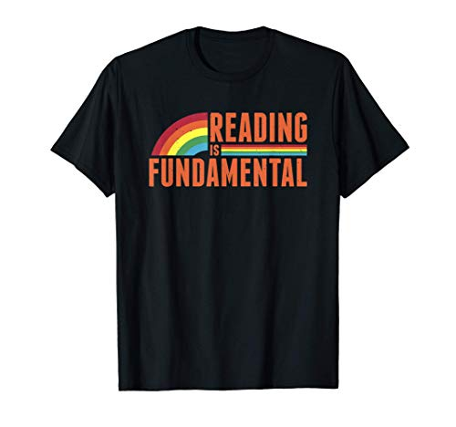 Fundamental Reading Geeky Bookworm Poetry Lover Literature T-Shirt
