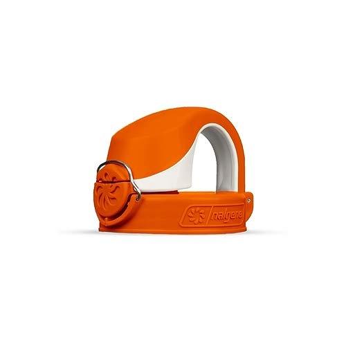 Nalgene OTF Flaschendeckel, Kunststoff, orange-Weiß, Uni