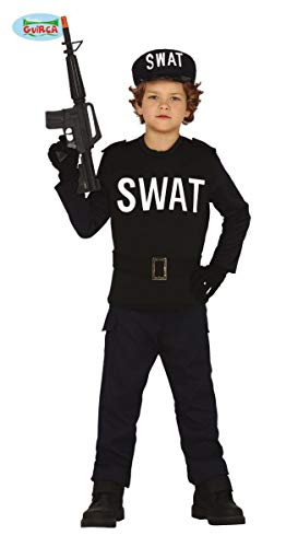 Guirca Disfraz de Agente Swat para niño: Amazon.es: Juguetes y juegos