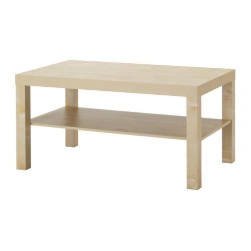 Ikea Mesa de café de Madera de Abedul Lack (90x 55cm)