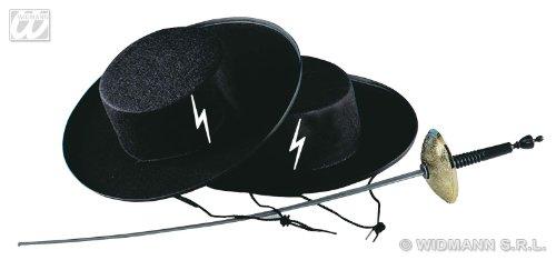 WIDMANN Sombrero Zorro Caballero de Fieltro, 004.wd2506z
