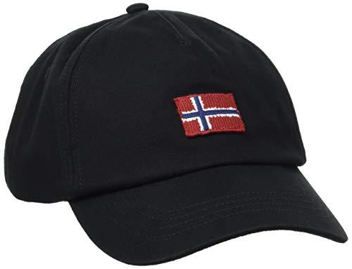 Napapijri Herren FONTAN Baseball Cap, Schwarz (Black 0411), One Size (Herstellergröße: OS)