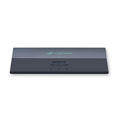 TSdrenaBluetooth5.0トランスミッター&レシーバー(送信機+受信機)遅延がほとんどないaptXLowLatency(aptXLL)対応(RCA・光デジタル・3.5mm)USB電源充電不要HEM-BLVTTRE
