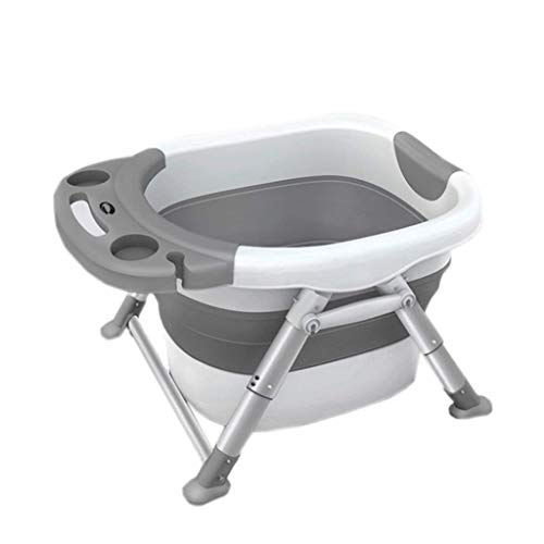 SMX Baby bad, babybadje Seat Floating Anti-Slip Bath kussen Soft Seat baddrager Niet giftig Portable, grote multi-purpose Bathtub