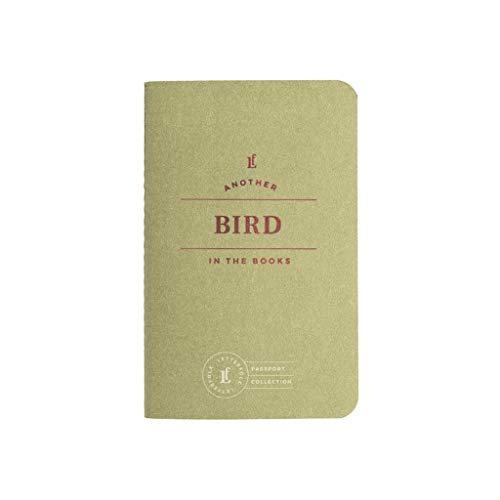 Bird Passport Journal — Pocket-Sized Birding Book by Letterfolk