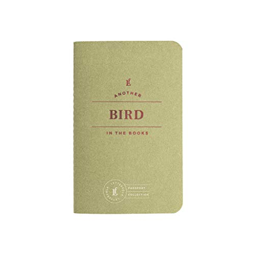 Bird Passport Journal — Pocket-Sized Birding Book by Letterfolk