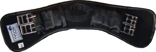 Tysons Breeches Sattelgurt Mondgurt Geleinlage Neoprene Kurzgurt 60 65 70 cm Problemlöser, 65cm