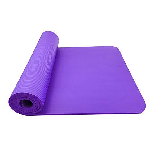 Joyeetime Esterilla Yoga Antideslizante Ligera, Yoga Mat de Material Ecológico EVA con Línea de Posición y Correa de Hombro para Yoga, Colchoneta Pilates,Fitness y Entrenamiento, A y B Dos Tamaños