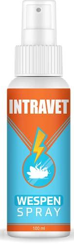 Saint Nutrition Intravet by Anti Wespen Spray - das Abwehr Spray auf Natürliche Weise, Insektenschutz für Innen + Aussen gegen die Wespenzeit mit dem Wespenspray, DIE natürliche Abwehr