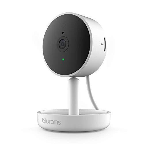 blurams Home Pro, Security Camera 1080p FHD   w/Facial Recognition, 2-Way Talk, Siren, Human/Sound Detection, Smart Alerts, Privacy and Night Vision Wi-Fi Cam   Cloud/Local Storage, Works with Alexa