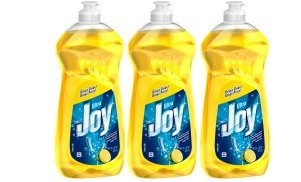 Joy Ultra Concentrated Dishwashing Dish Liquid, Lemon, 30 fl oz (Pack of 3)