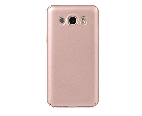 ARTILVST Samsung Galaxy J5 2016 Funda,Ultra fino medio rodeó la estructura de superficie mate Durable PC Protector teléfono funda para Samsung Galaxy J5 2016 Smartphone [oro rosa]