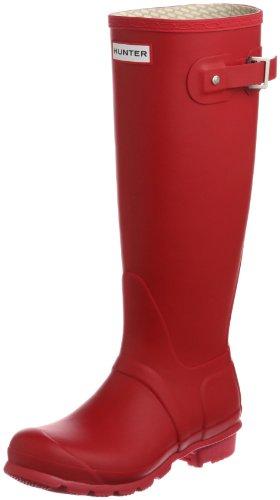 Hunter Original Tall classic, Unisex - Erwachsene Gummistiefel mit hohem Schaft, Rot (red), 40-41