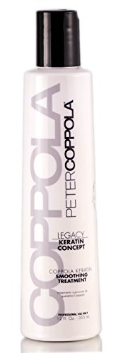 PETER COPPOLA Coppola Keratin Smoothing Treatment Formaldehyde & Aldehyde-Free 12 Oz