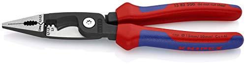 KNIPEX Alicate para instalaciones eléctricas (200 mm) 13 82 200
