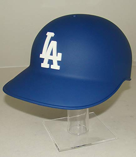 Los Angeles Dodgers Matte Blue MLB Official Authentic Classic Baseball Helmet (for Catchers or Coaches) with 3D LA Logo