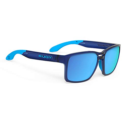 Rudy Project Spinair 57 Sonnenbrille Crystal Blue - rp Optics multilaser Blue 2020 Fahrradbrille