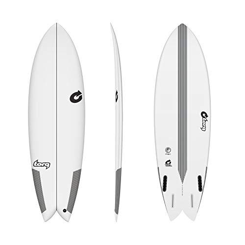 TORQ Epoxy Tec Quad Twin Fish 7.2 - Tabla de Surf