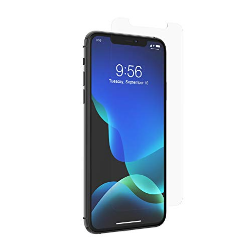 ZAGG InvisibleShield Glass Elite Screen Protector - Made for Apple iPhone 11 Pro Max - Case Friendly Screen - Impact & Scratch Protection (200103914)