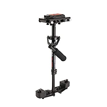 FLYCAM HD-3000 Handheld Video Camera Stabilizer with Quick Release Plate and Table Clamp 8 Lbs Capacity