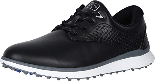 Callaway Men's Oceanside LX Golf Shoe, Black, 12