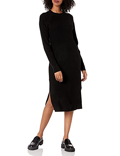 The Drop Women's Renata Rib Midi Dress