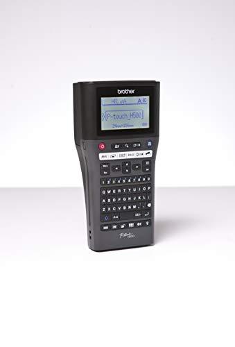 Brother PT-H500 Beschriftungsgerät inklusive USB-Schnittstelle (für 3,5 bis 24 mm breite TZe-Schriftbänder, bis zu 30 mm/Sek. Druckgeschwindigkeit)