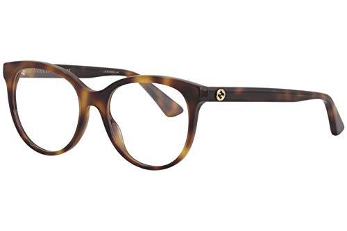 montatura occhiali da vista donna gucci Gucci GG0329O - Occhiali da vista 002 Havana/Havana