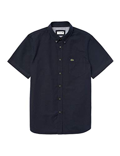 Lacoste - Camisa Punto Manga Corta Hombre - Ch4975