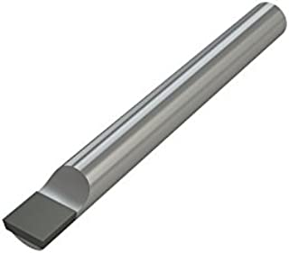 1.100 Maximum Bore Depth AlTiN Coated 0.080 Projection Micro 100 0.320 Minimum Bore Diameter 3//8 Shank Diameter Solid Carbide Tool Right Hand Cutting Radius Boring Tool 0.005 Tool Radius BB-3201100X 2-1//2 Overall Length