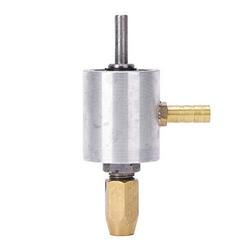 OhhGo Adaptador de taladro de boquilla de agua Accesorios de conector de acero de tungsteno para agujero OpenerShaft Diámetro 6mm Chuck Diámetro 6mm Diámetro 6mm