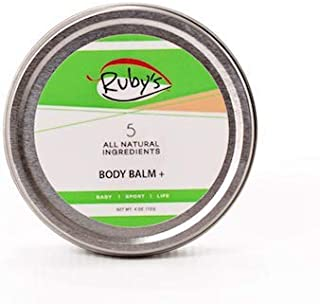 Anti- Chaffing Sports Wax Created by Ironman Champ | Ruby's Lube | All Natural and Made in USA | Water and Sweat Resistant | Blister Prevention | Formulated by a 7 Time Ironman Winner - 4 oz