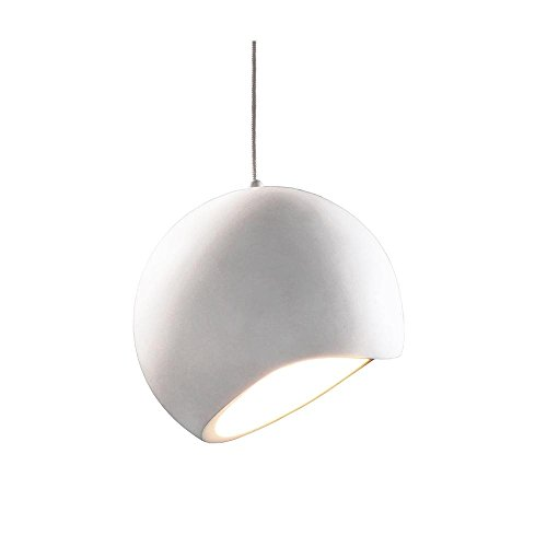 Suspension Osane Plâtre Lampe, AC 220–240 V/50–60 Hz, E27 40 W