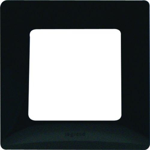 Legrand LEG96701 Niloé - Marco para interruptor (1 orificio), color negro