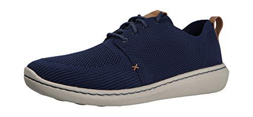 Clarks Herren Step Urban Mix Derbys, Blau (Navy), 43 EU