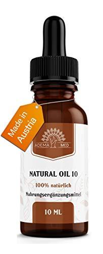 Adema Med® NATURAL OIL 10 - hochdosiertes Natur Öl aus der schönsten Pflanze der Welt - Vegane & Natürliche Tropfen mit Premium Qualität