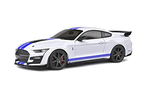 SOLIDO Ford Mustang Shelby GT500 2020 modellino Auto in Scala 1:18, Colore: Bianco, 421186100