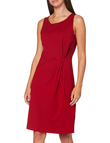 comma Damen 81.007.82.5514 Kleid, 3868 rot, 42