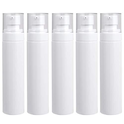 Exceart 5St Plastic Schuim Dispenser Lege Pomp Flessen Reizen Zeep Flessen Cosmetica Make-Up Fles Reiscontainer 100Ml