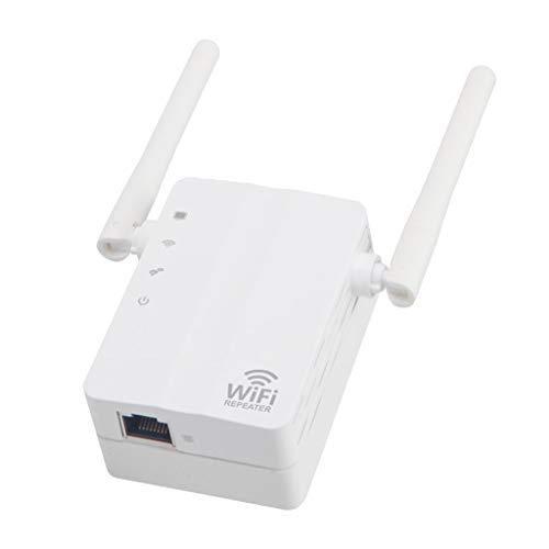 H HILABEE 300Mbps WiFi Router 2 Antena 3 Modos De Trabajo para La Oficina del Hotel En Casa, 300 Metros, Dispositivos De Red