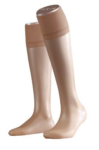 FALKE Damen Pure Matt 20 DEN W KH Socken, Transparent, Beige (Cocoon 4859), 39-42