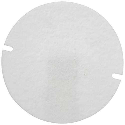 Kamino-Flam Filtro per Sportello Ispezione Stufa per Tubi, Fibra BIO-CMS (Calcio-magnesio silicato), Bianco, 15x31x20.5 cm, 100 unità