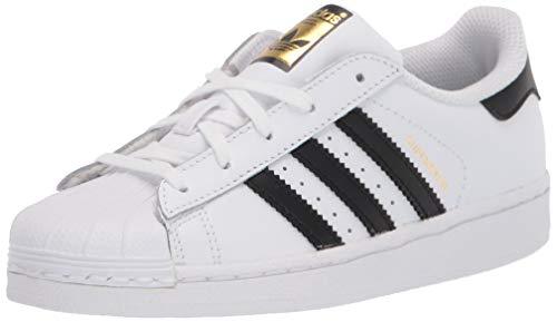 adidas Originals Superstar, Zapatillas Unisex niños, Núcleo Blanco Negro Core Blanco, 18 EU