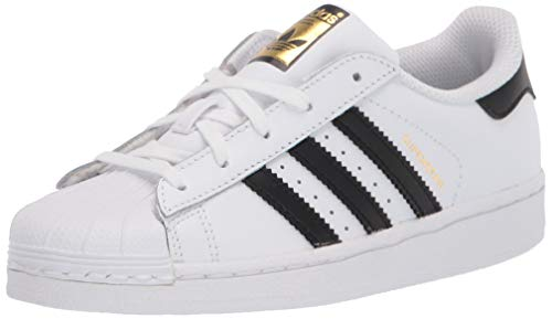 adidas Originals Superstar, Zapatillas Unisex, Niños, Blanco (Ftwr White/Core Black/Ftwr White), 38 EU